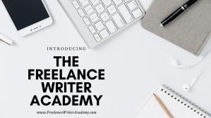 Freelance Writer Academy